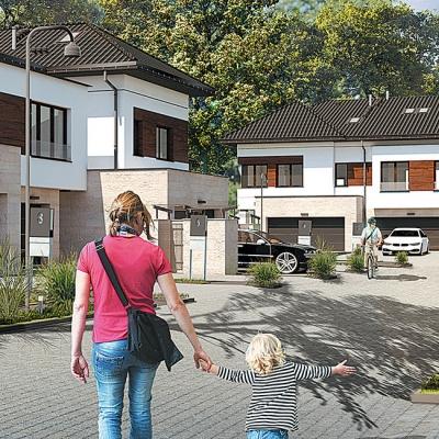 Domy - II Etap w Budowie