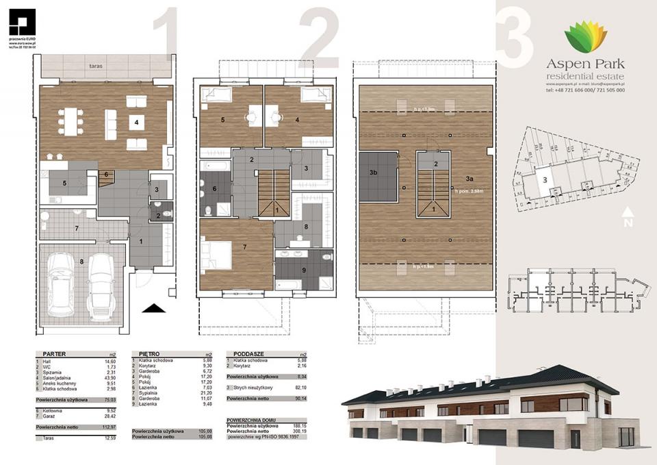 Dom D1 - 3 - Bursztynowa