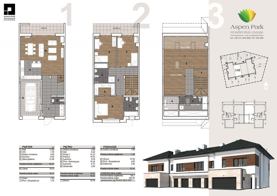 Dom D4M - 14B - Bursztynowa