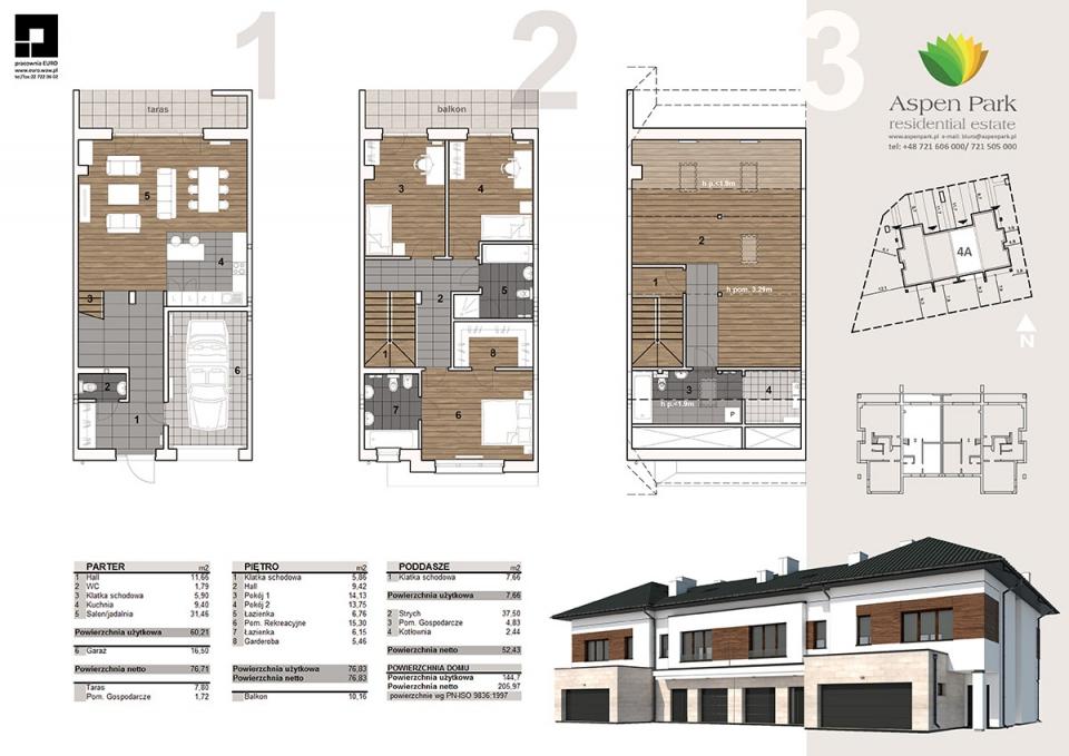 Dom D4M - 4A - Bursztynowa