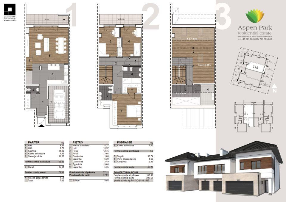 Dom D4M1 - 11B - Szmaragdowa