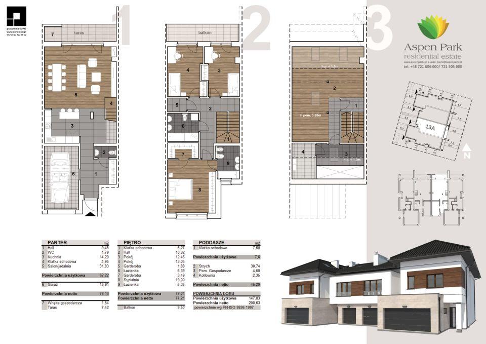 Dom D4M1 - 13A - Szmaragdowa