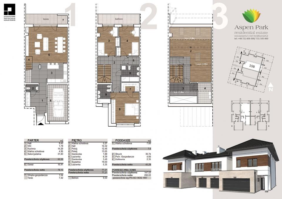 Dom D4M1 - 15B - Szmaragdowa