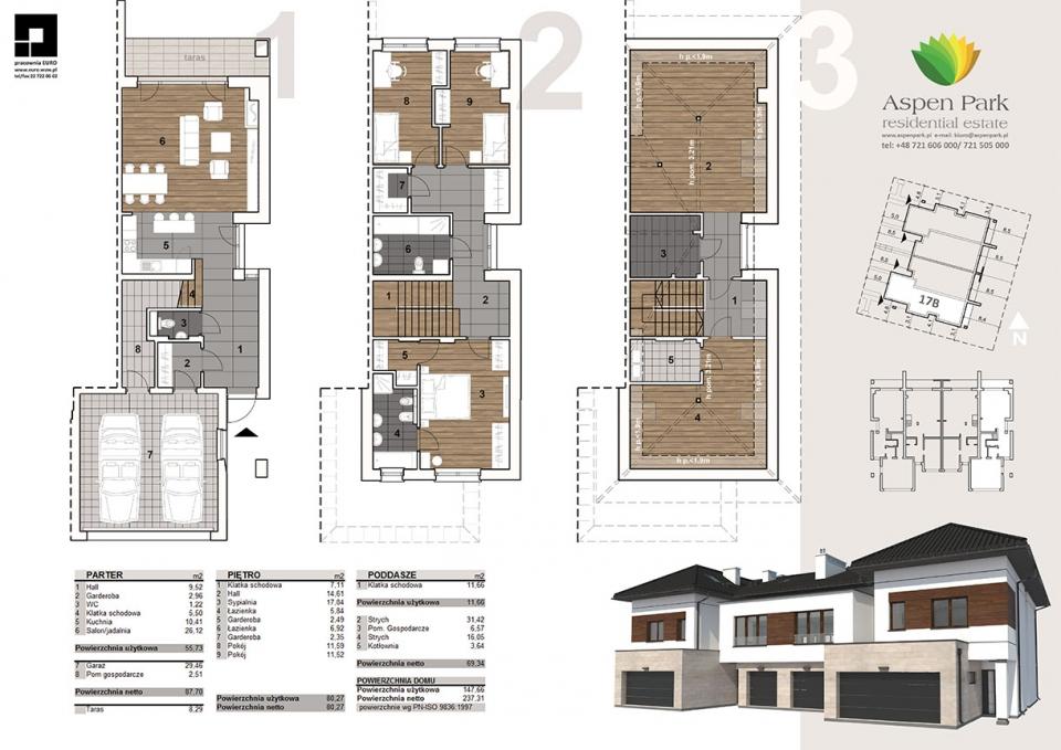 Dom D4M1 - 17B - Szmaragdowa