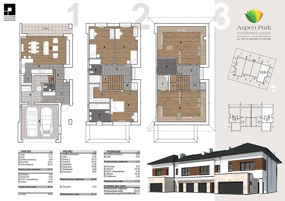 Dom D4M2 - 11B - Seledynowa