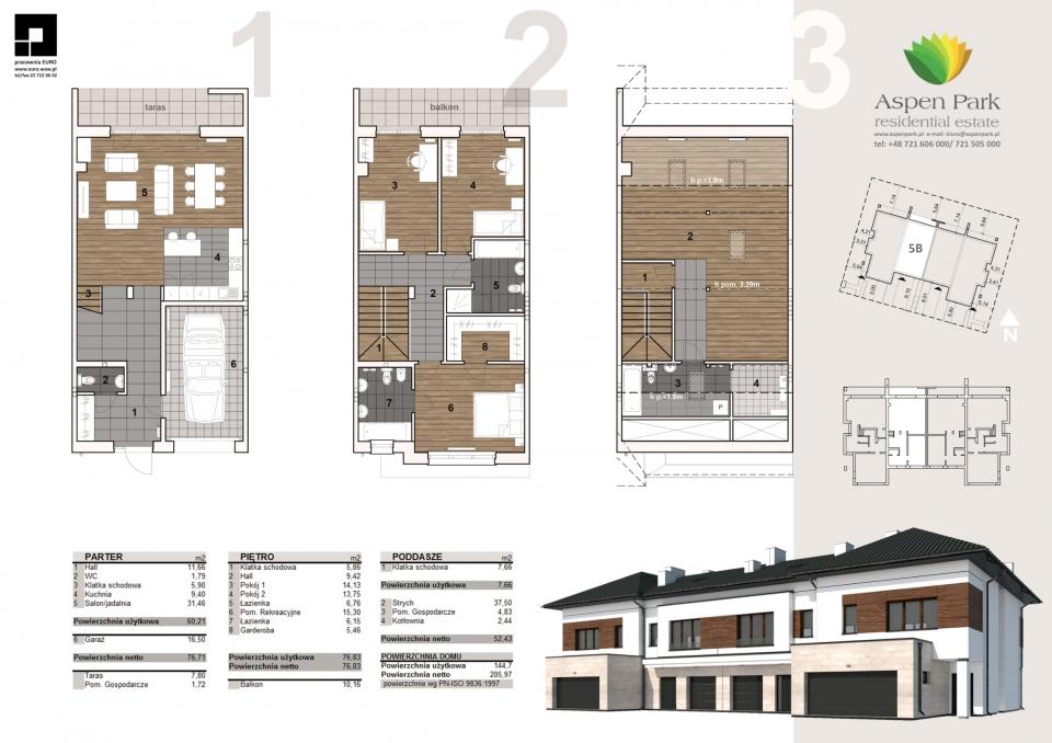 Dom D4M2 - 5B - Seledynowa