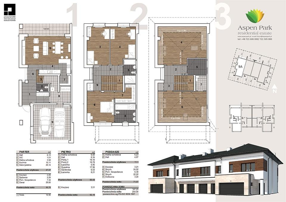 Dom D4M2 - 9A - Seledynowa